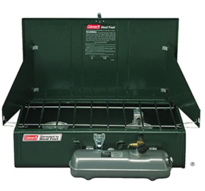 Coleman Gas Stove - Duel Fuel - Two Burners