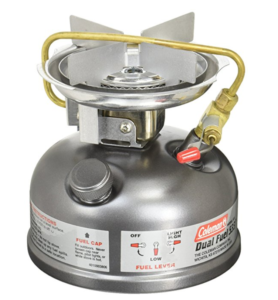 Coleman Gas Stove - Duel Fuel - One Burner