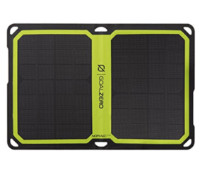 GoalZero Solar Panel Puerto Rico Survival Tools