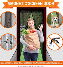 Screen Door for Mosquitos