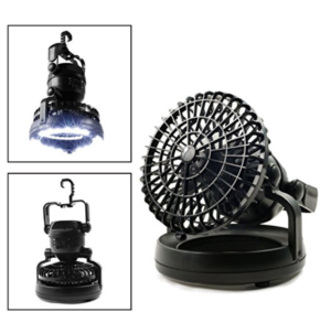 Portable Battery Operated Fan and Tent Light